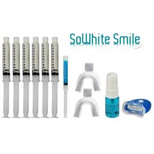 """Kit 60Ml Lampe blanchiment des dents """"zero peroxyde"""" + activateur anti-tache + gel remineralisant-"""