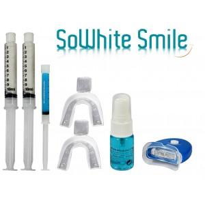 """Kit 20Ml Lampe blanchiment des dents """"zero peroxyde"""" + activateur anti-tache + gel remineralisant-"""