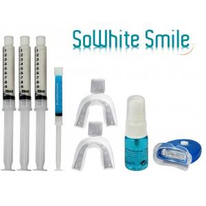 """Kit 30Ml Lampe blanchiment des dents """"zero peroxyde"""" + activateur anti-tache + gel remineralisant-"""