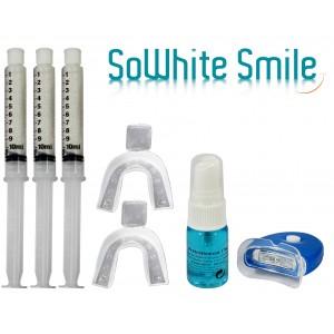 """Kit 30Ml Lampe blanchiment des dents """"zero peroxyde"""" + activateur anti-tache -"""
